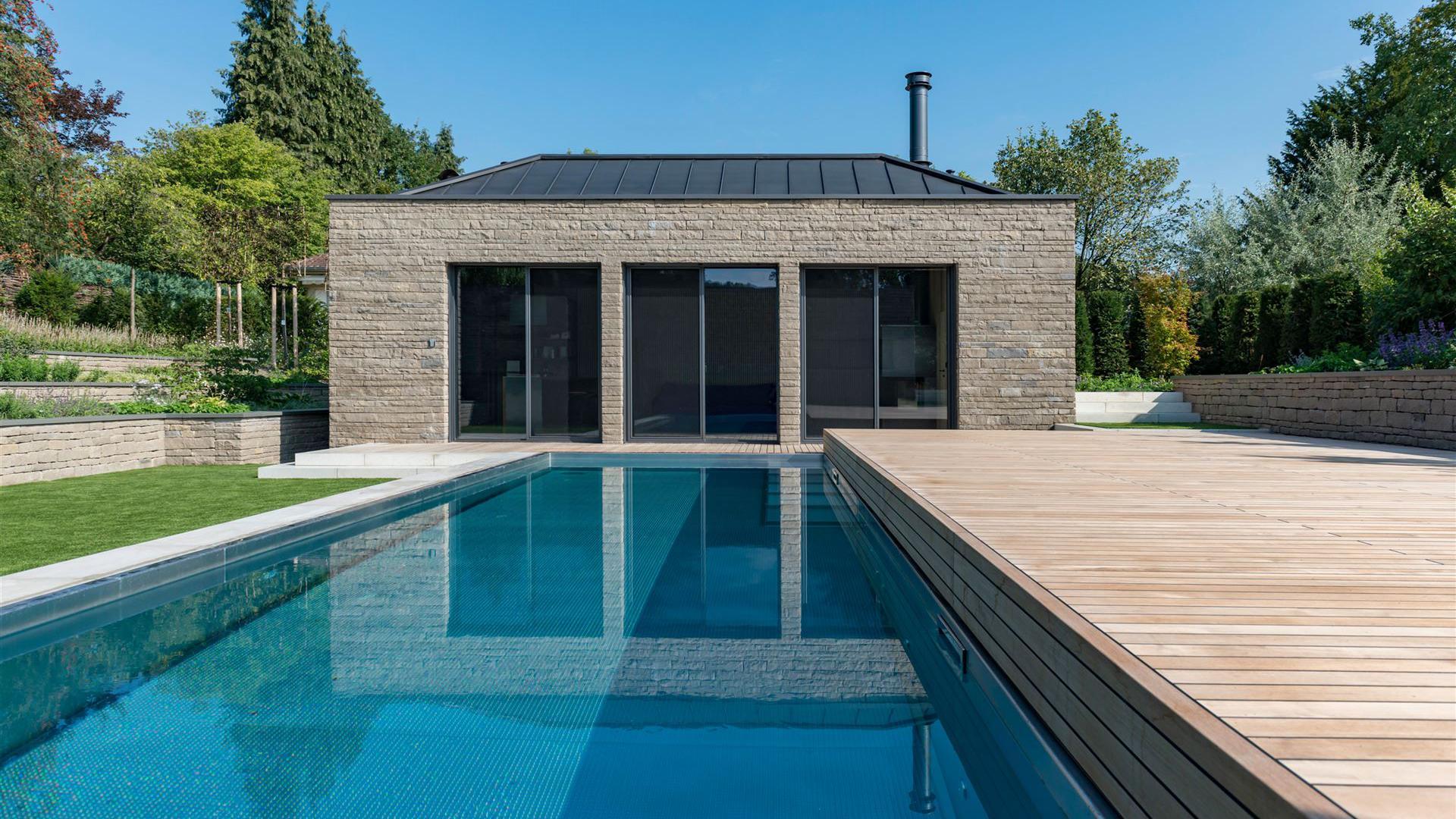 Architekt Für Haus Schwimmbad Wellness Spa